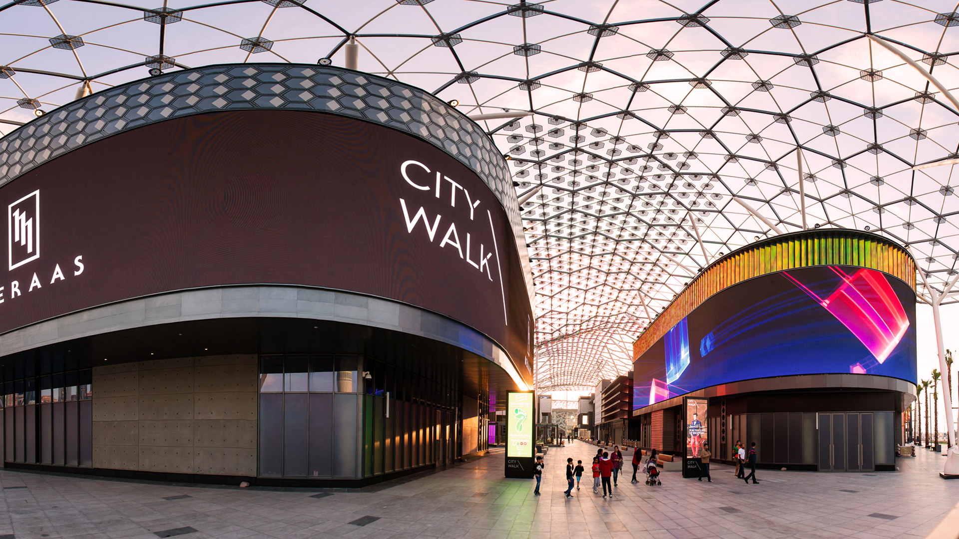 City Walk Mall advertising - Circuit B
